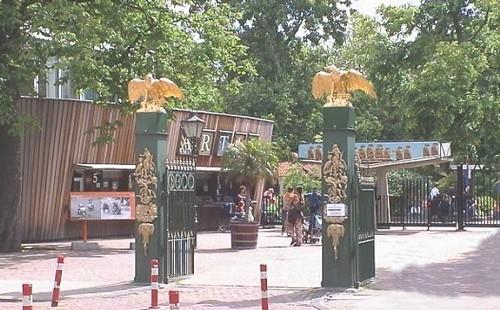 Entrada al Zoo Artis