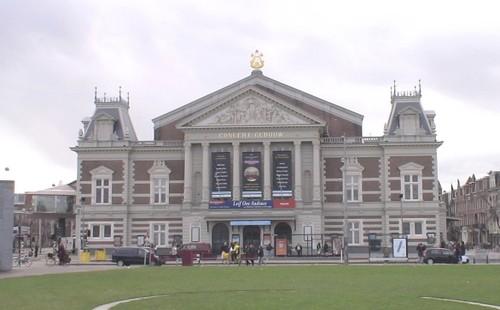Fachada del Concertgebouw