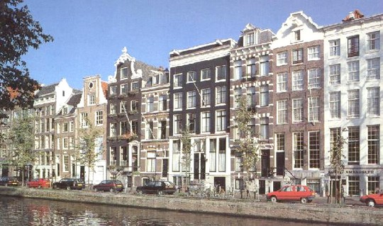 El Herengracht Canales De Amsterdam