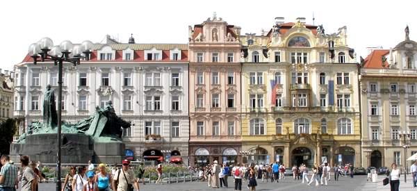 Fachadas al norte de la plaza