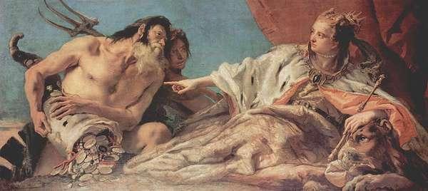 Alegoría de Giovanni Battista Tiepolo