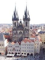 Praga - Plaza de la Ciudad Vieja