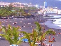 Playa Jardin en Puerto de la Cruz