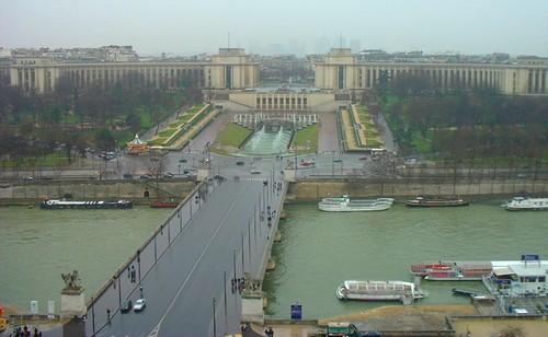 Palacio de Chaillot y Jardines del Trocadero