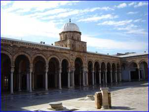 Tunez - Mezquita Zitouna