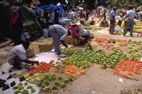 Mercado en Zanzibar