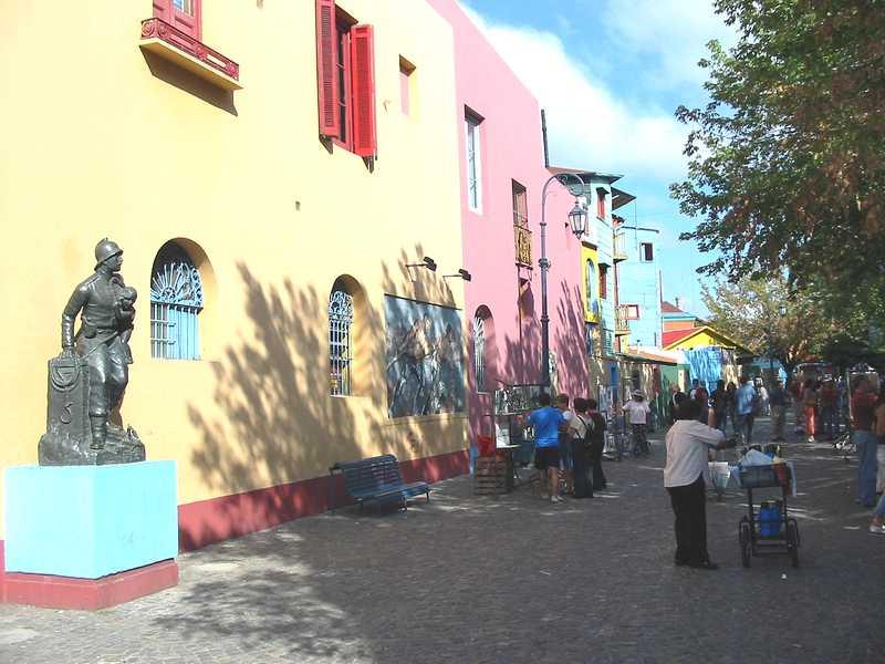 El barrio de la Boca