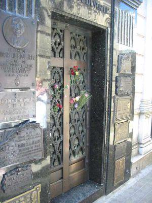 Tumba de Eva Perón