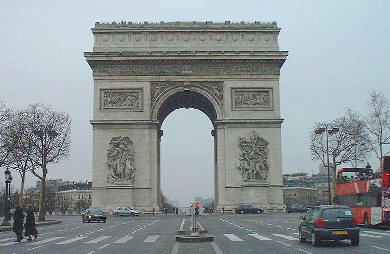 Glacy VS Vity~ Paris-arco-triunfo