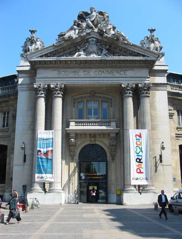 Palacio Brongniart - Ex Bolsa de Comercio