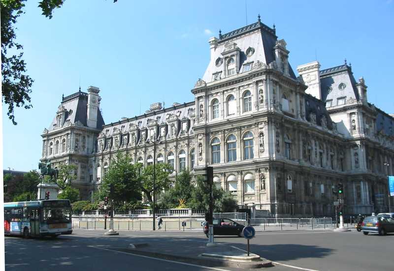 Hotel de ville ayuntamiento de par s for Hoteles de diseno en paris