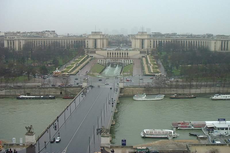 Trocadero y Palais Chaillot